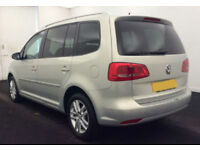 2011 VW TOURAN 1.6 TDI SE GOOD / BAD CREDIT CAR FINANCE AVAILABLE