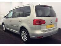 2011 VW TOURAN 1.6 TDI SE GOOD / BAD CREDIT CAR FINANCE AVAILABLE