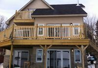 New Water front 3 storey house for rent