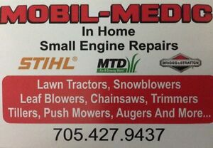 Mobil-Medic.  Snowblowers and Small Engine Repairs. (In Home)