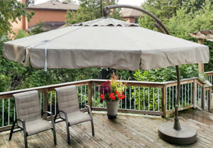 12' Sun Garden Parasol (patio umbrella) with Rotating System