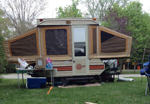 ultra light Bonair 700 tent trailer- Camp on Canada Day