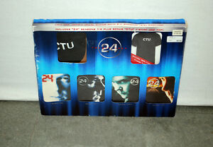 24 DVD Gift Set Season 1 - 4 With T-Shirt & Hat
