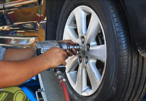 I am offering tire change balance and install