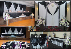 Wedding decor, backdrops, ceremony decor & linen rentals Edmonton Edmonton Area image 6