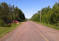 Surveyed land for sale near Shediac River
