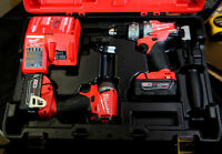 Milwaukee M18 FUEL 1/2 in Hammer Drill/Drive, Impact drive combo