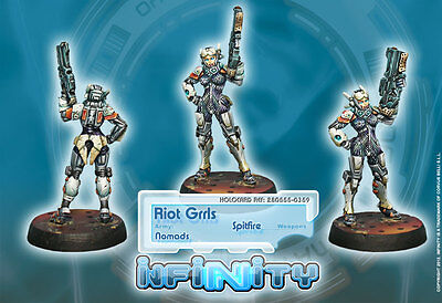 Infinity - Nomads: Nomads: Riot Grrls (Spitfire) 280555
