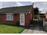 2 Bed Bungalow for rent in Saughall Massie with driveway and gardens