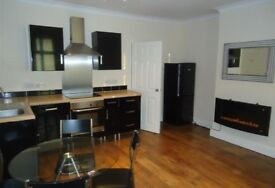 1 Bed flat to rent in New Ferry with yard