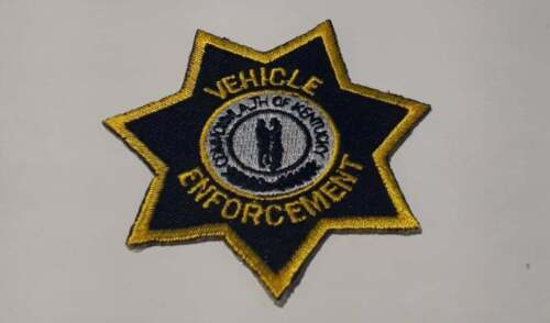 State Vehicle Enforcement Kentucky KY US Police Patch Vintage