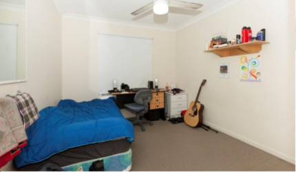 large furnished room walk to QUT,ALDI,KFC and bus stop close city