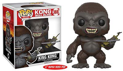 "Funko POP! MOVIES: KONG SKULL ISLAND - KING KONG 6"" - 12477"