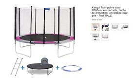 Brand New Trampolines - USED ONCE - 3.6METRES