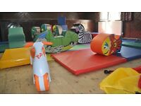 Soft play hire business. Equipment and van. *Now reduced £2200 ono*