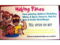 Face painter Belfast, Banbridge, Ballymena.... and beyond!