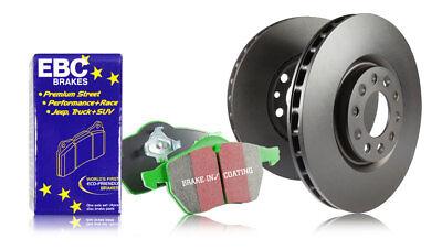 EBC Front Brake Discs & Greenstuff Pads Audi Q3 1.4 Turbo (150 BHP) (2014 > 15)