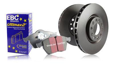 EBC Front & Rear Discs & Pads Audi Q3 Quattro 2.0 Turbo (170 BHP) (2011 > 15)