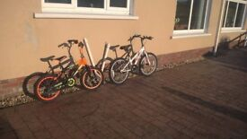 Kids Bike Boy and Girl in excellent condition