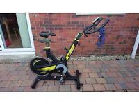 Indoor Exercise Bike (BH SB2.9 Rear Wheel Indoor Studio Cycle)