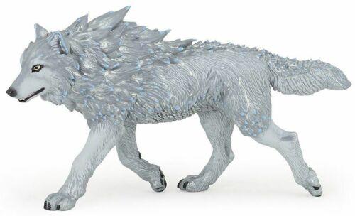 ICE WOLF 36033 ~ MYTHOLOGY ~NEW FOR 2021 ~ FREE SHIP/USA w/ $25.+ Papo Figurines