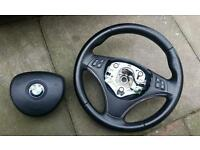 M Sport Steering Wheel with Airbag for BMW 3 Series e92 Coupe also have dash full leathers