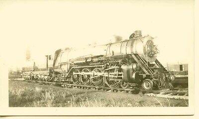 North Dakota 1939 Historic Photo Print Great Northern Railway Locomotive Fargo