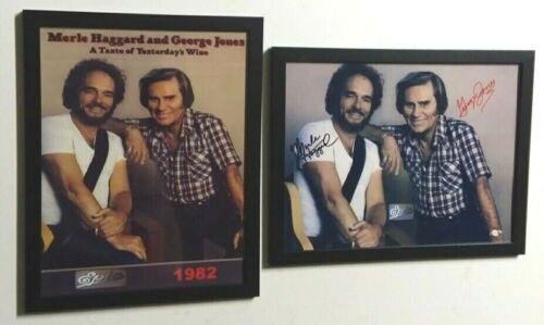 George Jones & Merle Haggard YESTERDAY