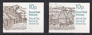 VG42-GREAT-BRITAIN-2-INTACT-BOOKLETS-SC-622i-2-DIFF-COVERS-SG-FA4-FA8