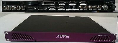 Miranda Kaleido AD 10 channel SDI / composite multiviewer with audio and softwar