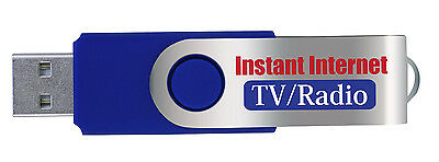 Internet TV Radio USB Stick Instant Media Computer Streaming NEW