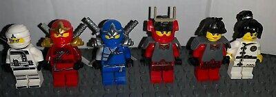 Lego Ninjago Minifigures Lot Jay Nya Kai Zane 6 Minifigures