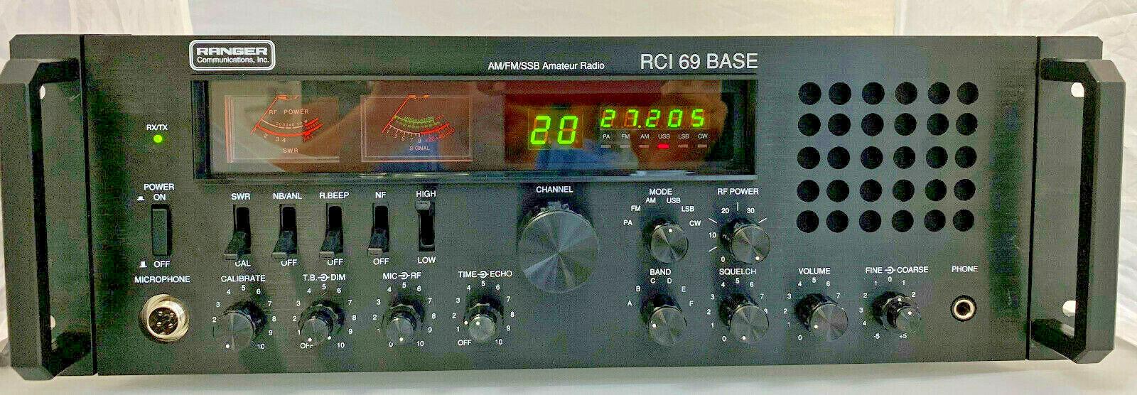 RCI-69 Base AM/FM/SSB/CW Station 10 Meter Amateur Radio AM/F