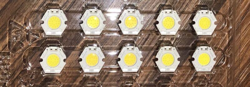 10 pcs - BXRC-50C1000-B-04 Bridgelux Vero10 LED Array; 5000K, 1000lm 80CRI