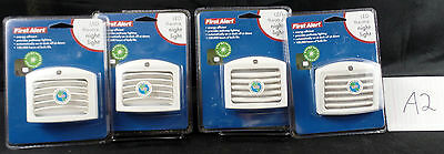 FIRST ALERT LED THEATER STYLE NIGHT LIGHT LOUVERED TLNL11 PACK OF 4 A2 & A6 ()