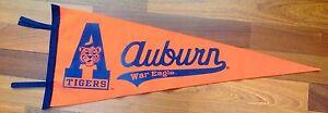 Auburn Tigers War Eagle Wool Pennant