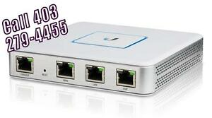 Ubiquiti Networks UniFi Enterprise Gateway Router with Gigabit Ethernet