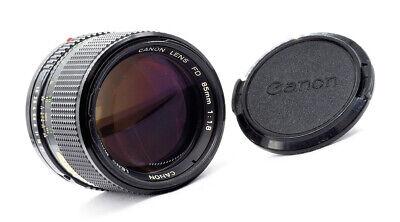 Canon FD 85mm 1.8 1979 - A MINTY EXAMPLE OF THIS RARE LENS! segunda mano  Embacar hacia Mexico