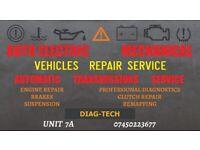 CARS & VANS REPAIR SERVICE / DIAGNOSTICS - CARS ELECTRONICS