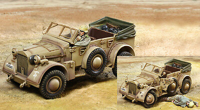 THE COLLECTORS SHOWCASE WW2 GERMAN DAK CS00880 AFRIKA KORPS HORCH MIB
