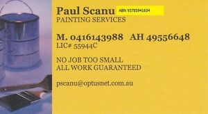 Paul Scanu Painting Lic# 55944c Wallsend Newcastle Area Preview
