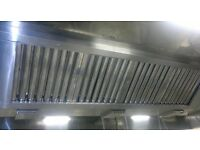 Kitchen extraction duct,fan,canopy cleaning,free quote TR19 Standards with certificate