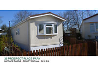 Fantastic 2 Bed Residentail Park Home, Rare Oppertunity to Buy, Beautiful Town Setting (Mobile Home)