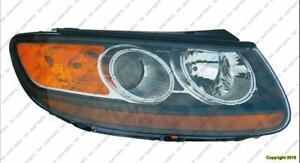 Head Lamp Passenger Side 2007-2009 Hyundai Santa Fe 2007-2009