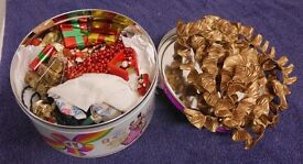 A Large Selection of Christmas Decorations