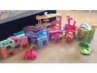 Toy bundle (lalaloopsy, littlest pet shop, barbie)