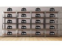 1 Bay Garage Storage Metal Shelving Unit 5 Tier Racking 172 cm High / Drawers available !!