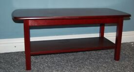 Brand New Solid Wood Coffee Table