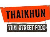 Kitchen Porter & Kitchen Assistant - Thaikhun Southampton - West Quay