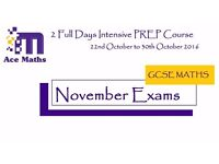2 Full Days Intensive PREP Course - NOVEMBER MATHS EXAMS